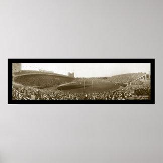 Northwestern Football Photo 1927 Poster