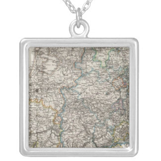 Northwestern Germany and the Netherlands Square Pendant Necklace