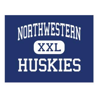 Northwestern Huskies Middle West Salem Ohio Postcard
