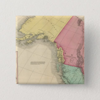 Northwestern North America Pinback Button
