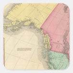 Northwestern North America Square Sticker