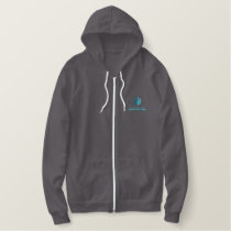 Northwestern Thermal Fleece Embroidered Hoodie