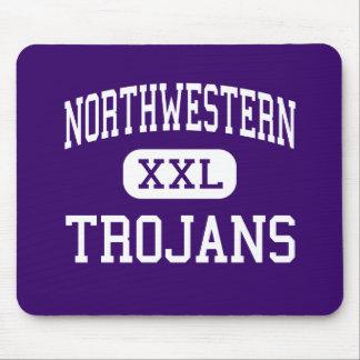 Northwestern - Trojans - High - Rock Hill Mouse Pad