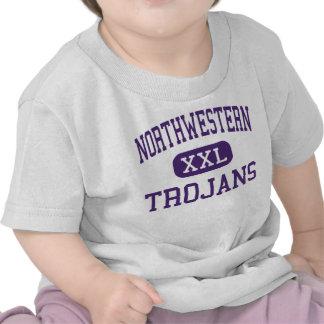 Northwestern - Trojans - High - Rock Hill Tee Shirts