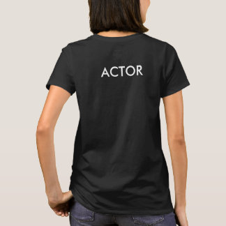 "Northwood Acting Studio Ladies ""Actor"" T-Shirt"