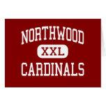Northwood - Cardinals - Middle - Fort Wayne Greeting Card