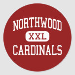 Northwood - Cardinals - Middle - Fort Wayne Classic Round Sticker