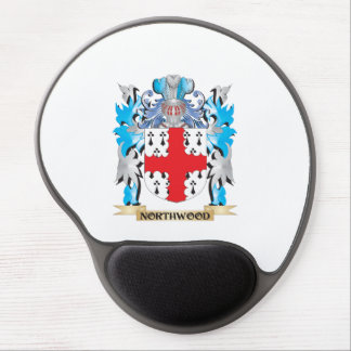 Northwood Coat of Arms - Family Crest Gel Mouse Mat