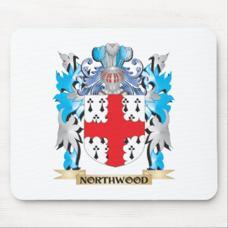 Northwood Coat of Arms - Family Crest Mousepads