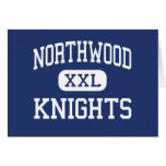 Northwood Knights Middle Taylors Greeting Cards