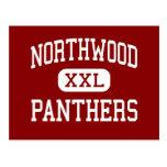 Northwood - Panthers - High - Nappanee Indiana Postcard