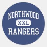Northwood Rangers Middle Northwood Ohio Round Sticker