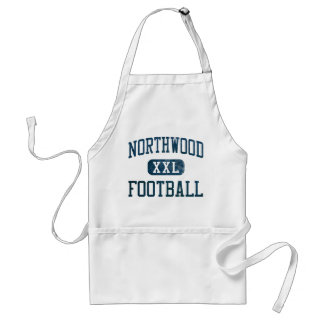 Northwood Timberwolves Football Adult Apron