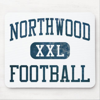 Northwood Timberwolves Football Mouse Pad
