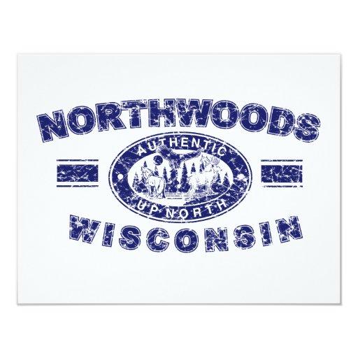 """Northwoods-Apenado [Conv Invitación 4.25"""" X 5.5"""""""