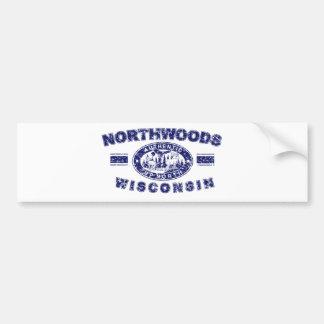 Northwoods-Apenado [Conv Pegatina Para Auto