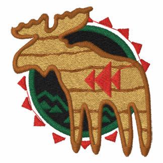 Northwoods Moose Embroidered Shirt