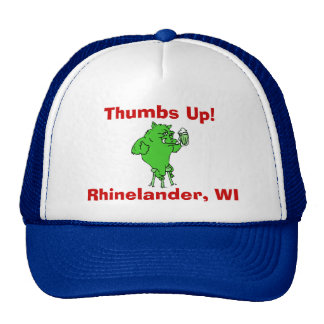 Northwoods Wisconsin Mythical Creature Hodag HAT