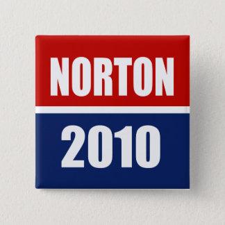 NORTON 2010 PINBACK BUTTON