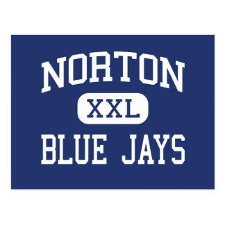 Norton - arrendajos azules - joven - Norton Kansas Tarjetas Postales