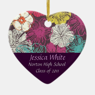 Norton Class of 2011 Heart Keepsake Ceramic Ornament