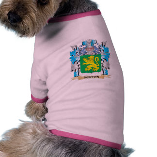 Norton Coat of Arms - Family Crest Dog Tee