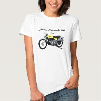 Norton Commando 750 Tee Shirts