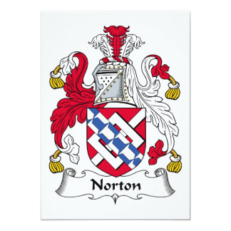 Norton Family Crest Card