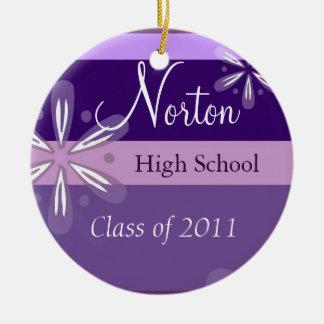 Norton Floral Class of 2011 Keepsake Ceramic Ornament
