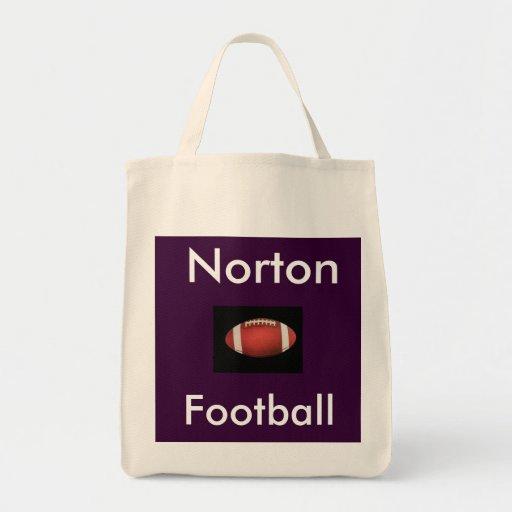 Norton Football Grocery Bag