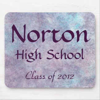 Norton High School Class of 2012 Mousepad