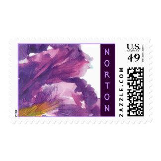 Norton Iris Postage Stamps