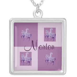 Norton Lancer Squares Necklace