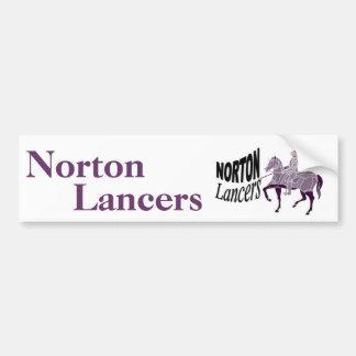 Norton Lancers Bumper Sticker