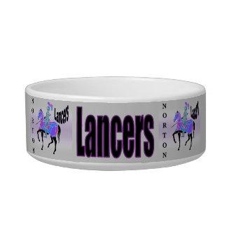 Norton Lancers Cat Bowl