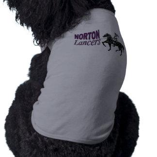 Norton Lancers Dog Shirt