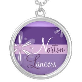 Norton Lancers Floral Necklace