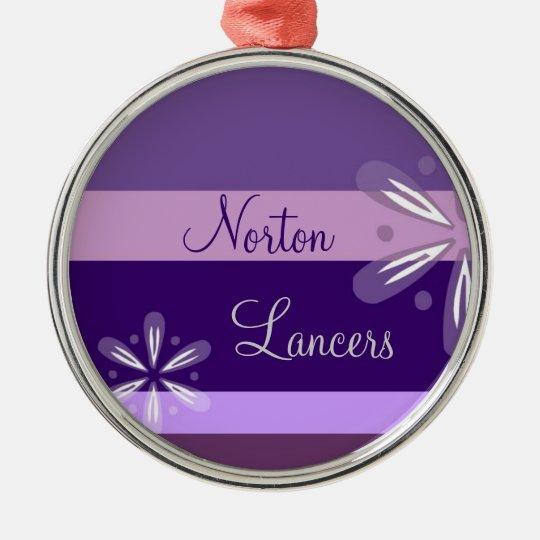 Norton Lancers Floral Ornament