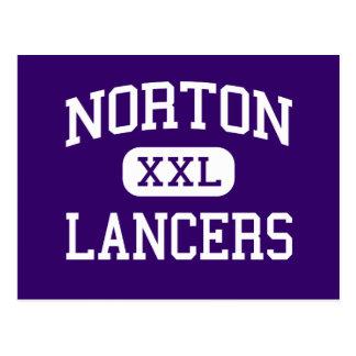Norton - Lancers - High - Norton Massachusetts Post Cards