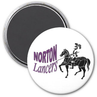 Norton Lancers Magnet