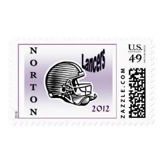 Norton Lancers Postage Stamps
