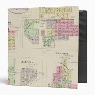 Norton, Lenora, Almena, Densmore, Almelo, Kansas 3 Ring Binder