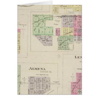 Norton, Lenora, Almena, Densmore, Almelo, Kansas Card