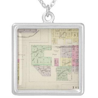 Norton, Lenora, Almena, Densmore, Almelo, Kansas Silver Plated Necklace