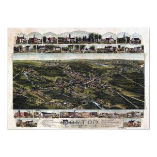 Norton, Massachusetts (1891) Card