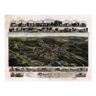 Norton, Massachusetts (1891) Postcard