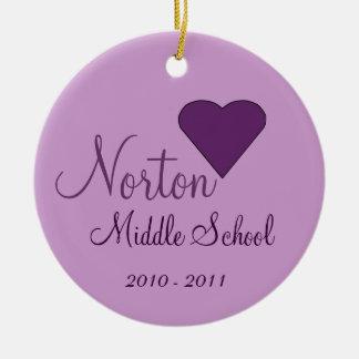 NORTON Middle School Ornament