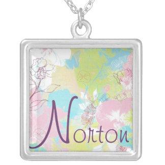 Norton Pastel Floral Necklace