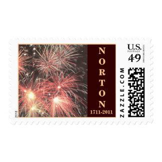 Norton sellos 1711 - 2011 Tricentennial