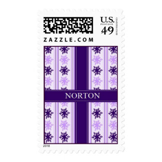 Norton Snowflake Postage Stamps